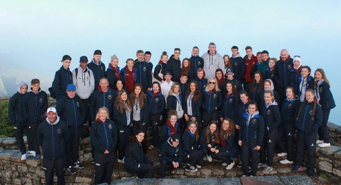 Students fundraiser for 12 days sports tour of South Africa